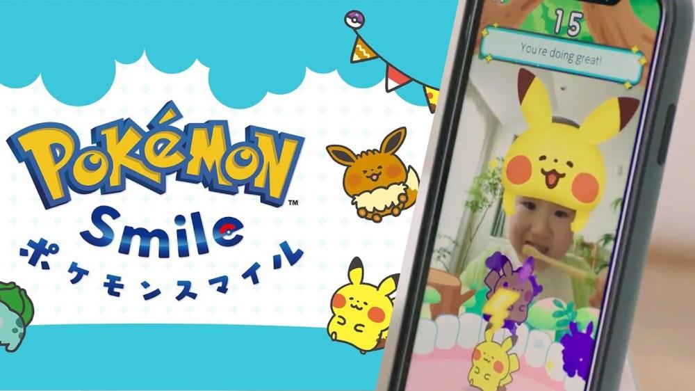 Pokemon刷牙App幫小朋友正確刷牙