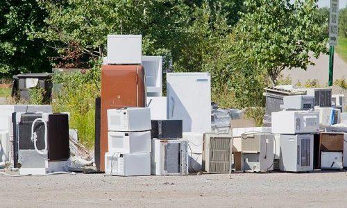 大半年回收利用廢家用電器逾100噸